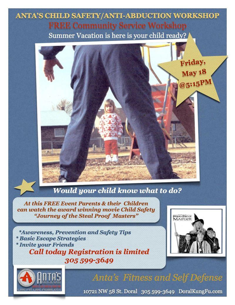 Child  Safety Workshop 2012