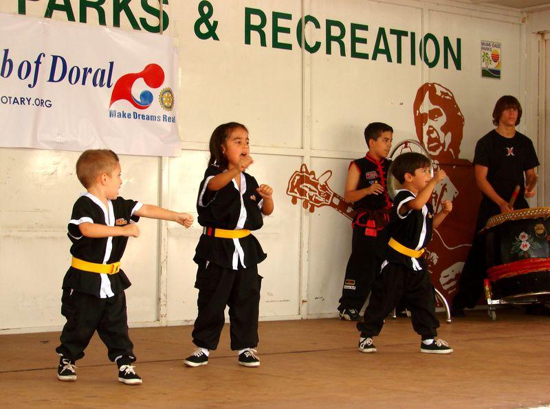 Art Fest @ Doral Lil Ninjas 08