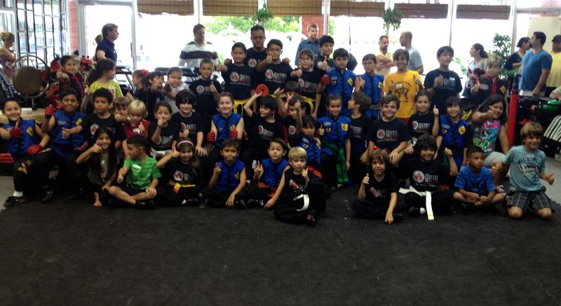 Art of fighting kids 8-12
