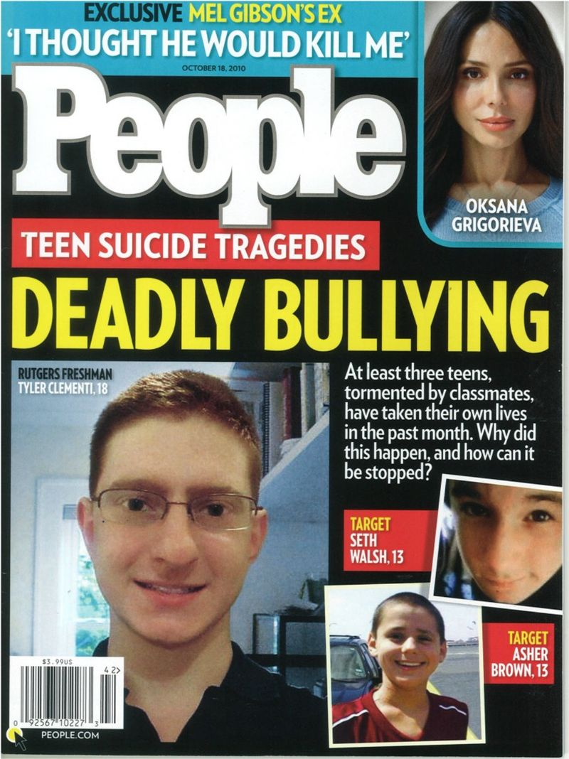 Bullying People magazine 10-10