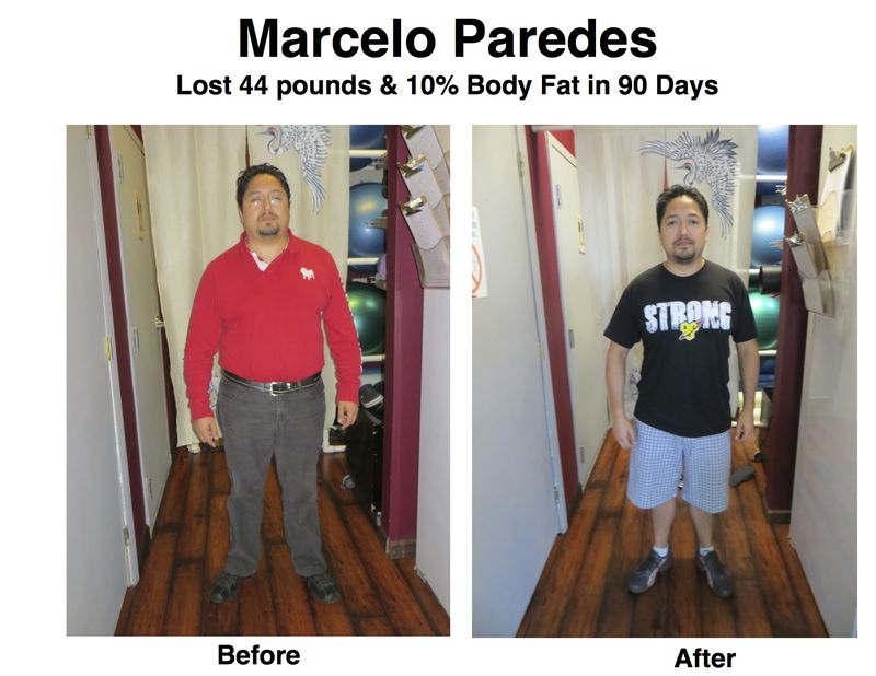 Marcelo Paredes before after 4-13