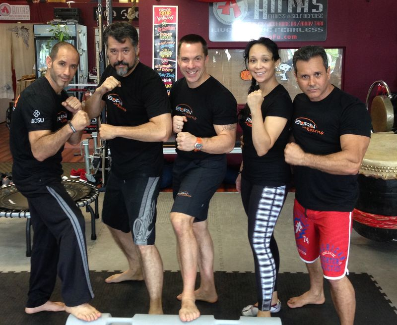 Kearns MMA Fitness instructors
