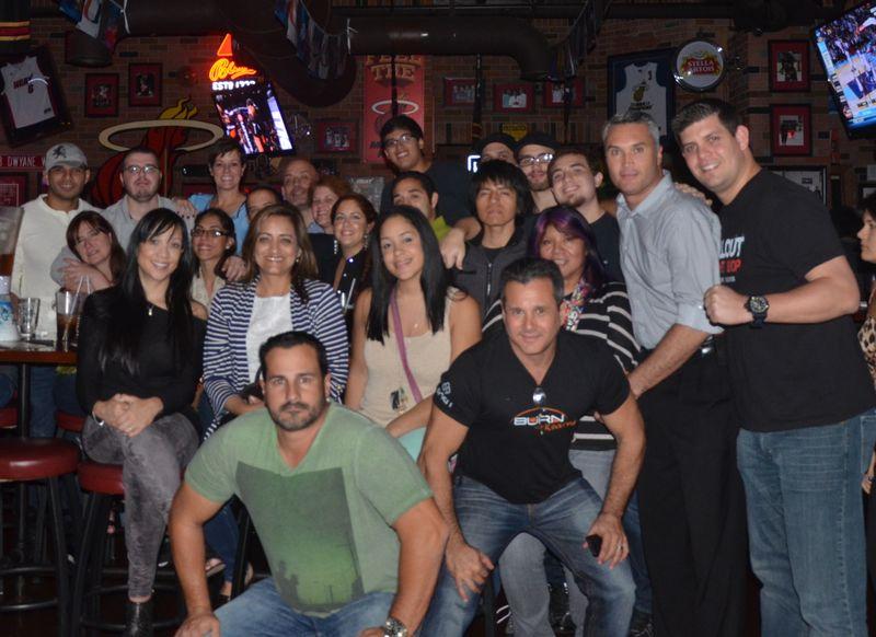 UFC 167 ale house group 2013