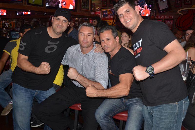 UFC 167 Edgardo 2013