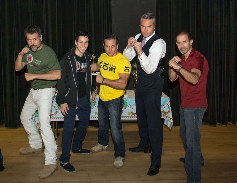 Christmas Edgardo fighting sytance 2013