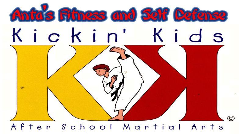 Kicking kids logo