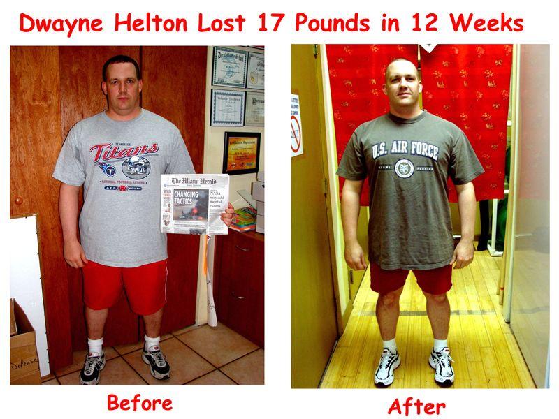Dwayne Helton before after