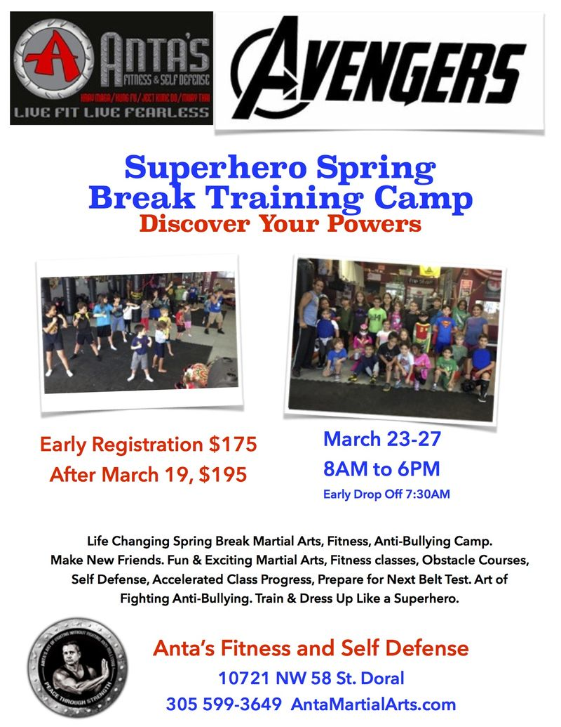 Spring Break Camp 2015