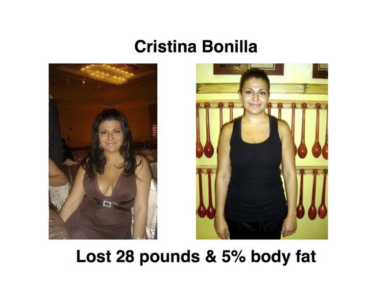 Cristina Bonilla Before After