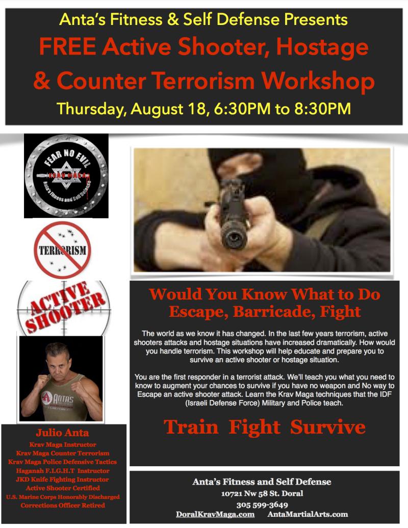 Active Shooter Workshop
