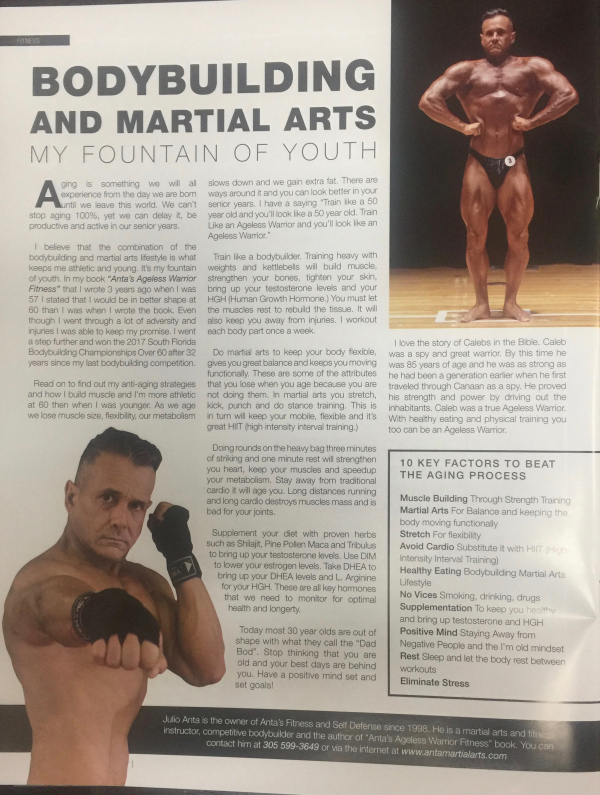 Fitness Bodybuilding And Martial Arts My Fountain Of Youth