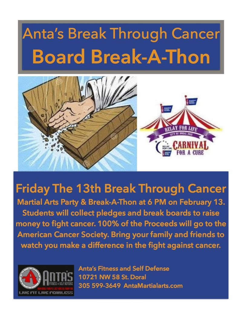 Break A Thon 2015