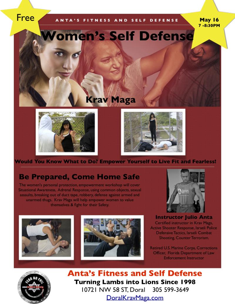 WomenSelf Defense 5-19