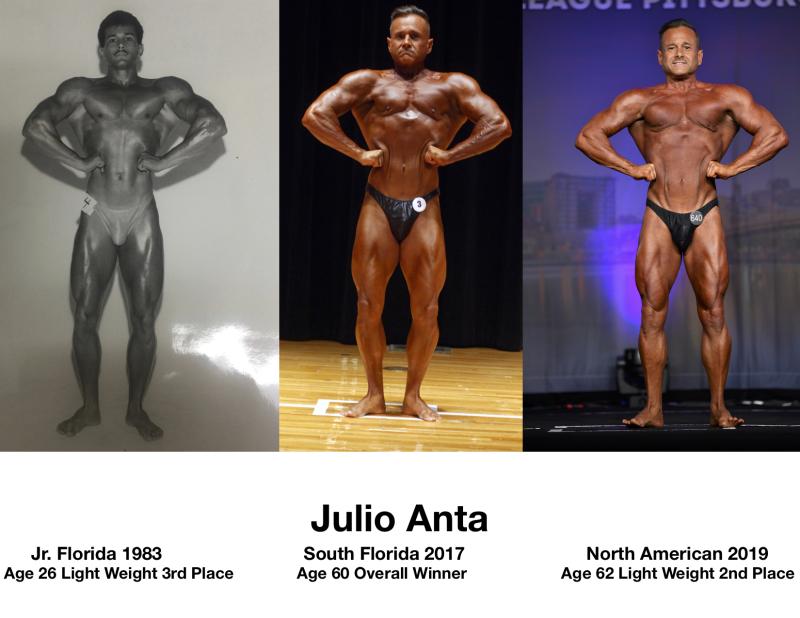 Julio Bodybuiding 83 to 19